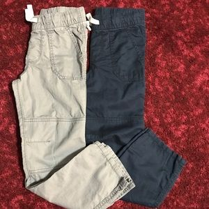 2 pair Boy's Cat & Jack Pants